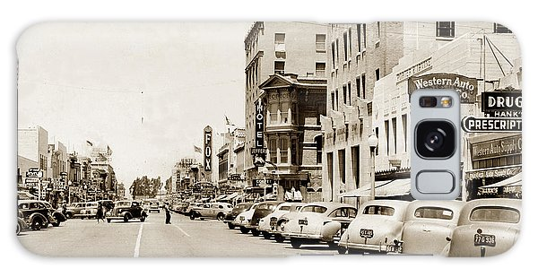 Main Street Salinas California 1941 Galaxy Case
