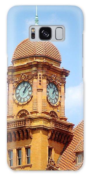 Main Street Station Clock Tower Richmond Va Galaxy Case