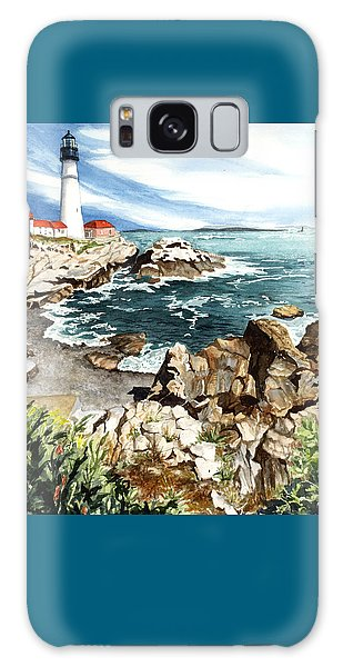 Maine Attraction Galaxy Case by Barbara Jewell