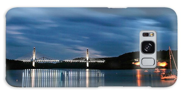 Maine Bridge And Fort Knox  Galaxy Case