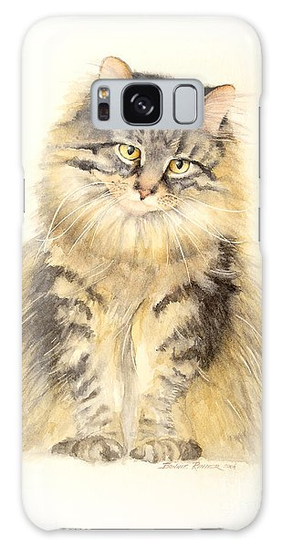Maine Coon Cat Galaxy Case