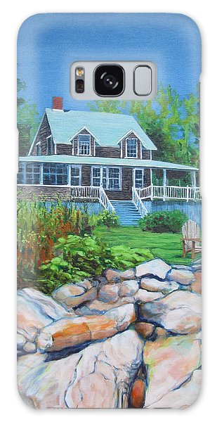 Maine Cottage Galaxy Case