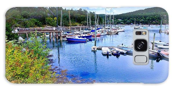Maine Harbor 2 Galaxy Case