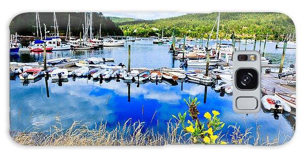 Maine Harbor Galaxy Case