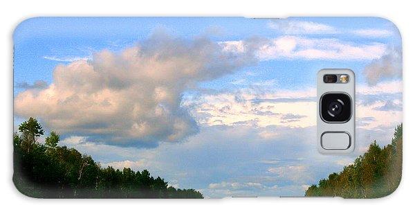 Houlton Galaxy Case - Maine Road by Linda Galok