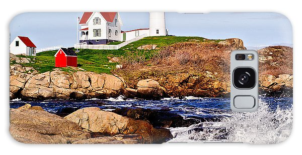 Maine's Nubble Light Galaxy Case