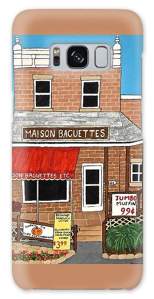 Maison Baguettes Galaxy Case by Stephanie Moore