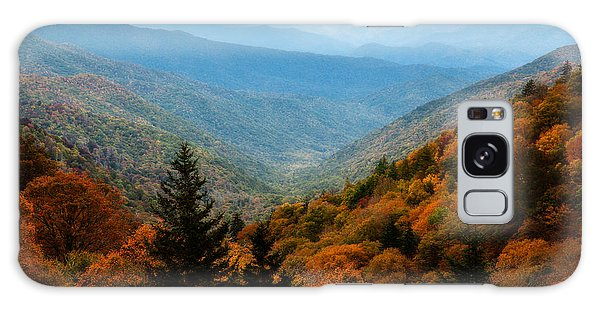 Majestic Autumn In The Smokies Galaxy Case