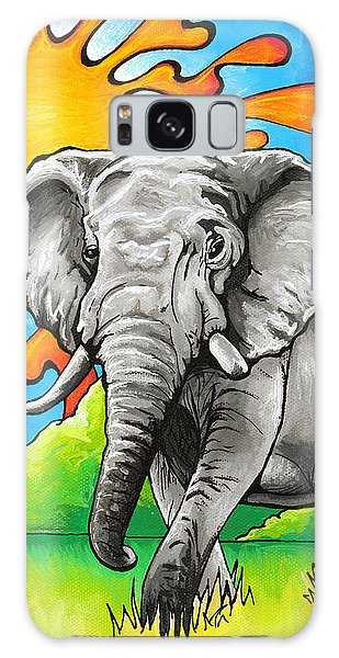 Majestic Elephant Galaxy Case