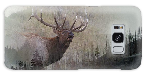 Majestic Elk Galaxy Case