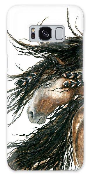Horse Galaxy Case - Majestic Pinto Horse 80 by AmyLyn Bihrle
