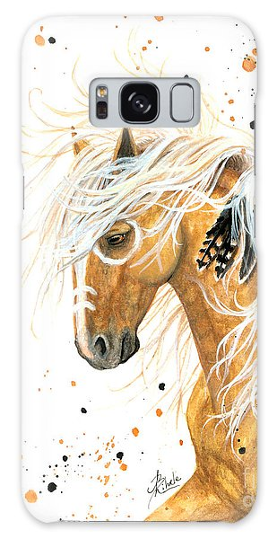 Majestic Palomino Horse 84 Galaxy Case