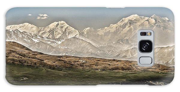 Majestic Mount Mckinley Galaxy Case by Penny Lisowski