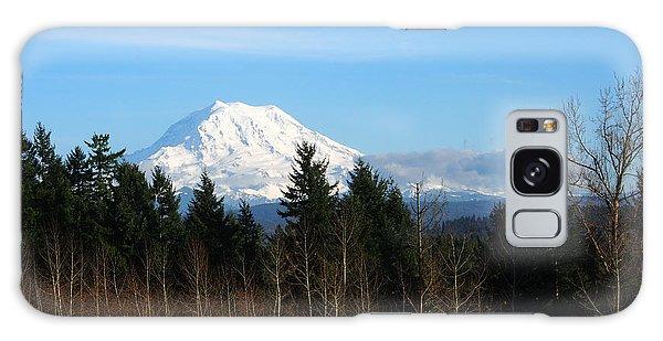 Majestic Mount Rainier Galaxy Case