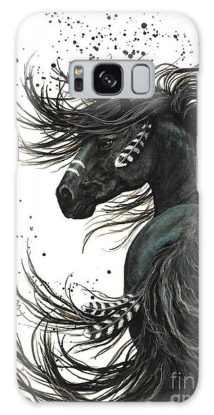 Galaxy Case - Majestic Spirit Horse  by AmyLyn Bihrle