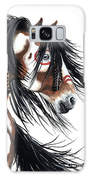 Majestic Pinto Horse Galaxy Case by AmyLyn Bihrle