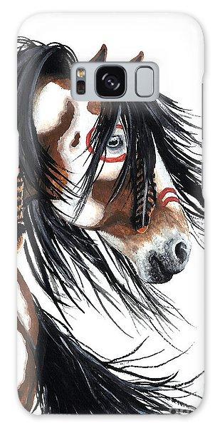 Horse Galaxy Case - Majestic Pinto Horse by AmyLyn Bihrle