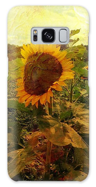 Majestic Sunflower  Galaxy Case