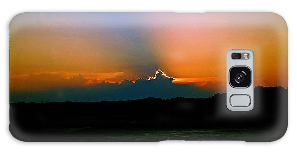 Majestic Sunset Galaxy Case