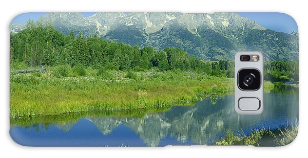 Majestic Tetons I Galaxy Case