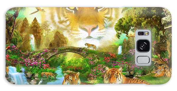 Majestic Galaxy Case - Majestic Tiger Grotto by MGL Meiklejohn Graphics Licensing