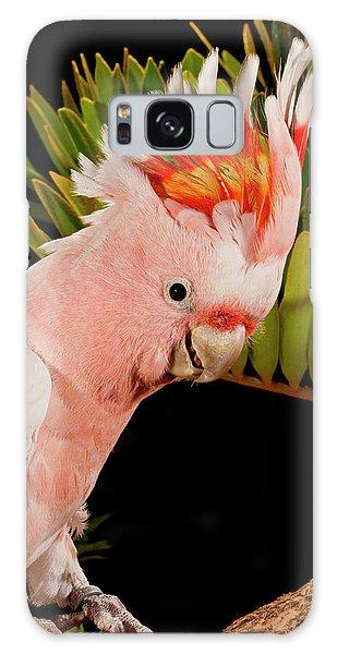 Cockatoo Galaxy S8 Case - Major Mitchell's Cockatoo, Lophochroa by David Northcott