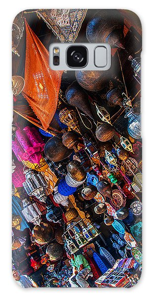 Marrakech Lanterns Galaxy Case