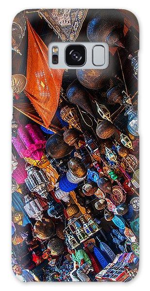 Marrakech Lanterns Galaxy Case
