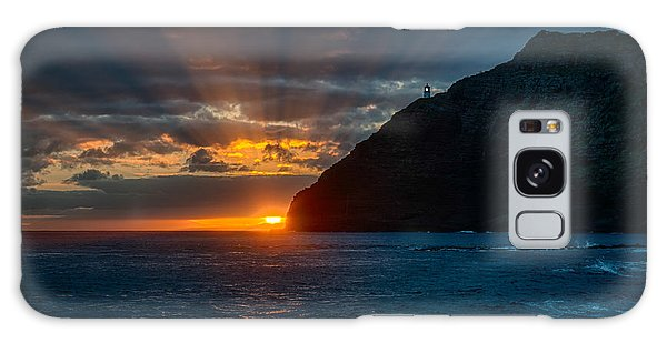 Makapuu Sunrise Galaxy Case by Dan McManus