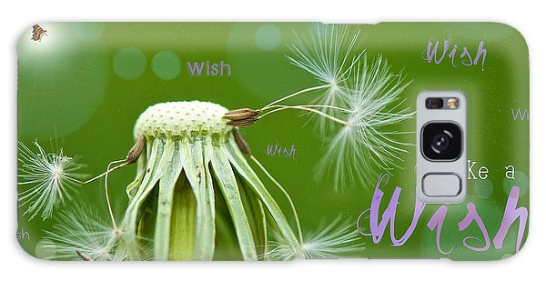 Make A Wish Card Galaxy Case