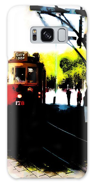 Make Way For The Tram  Galaxy Case