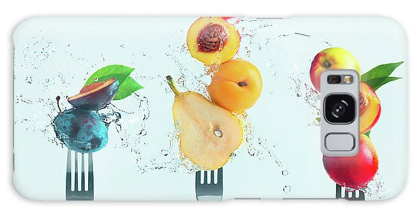 Splash Galaxy Case - Making Fruit Salad by Dina Belenko