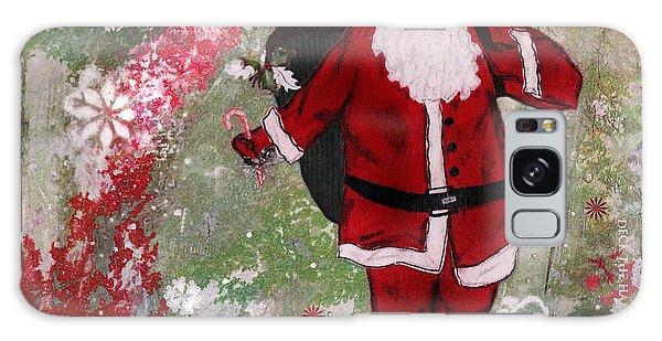 Santa Claus Galaxy Case - Making Spirits Bright by Janelle Nichol