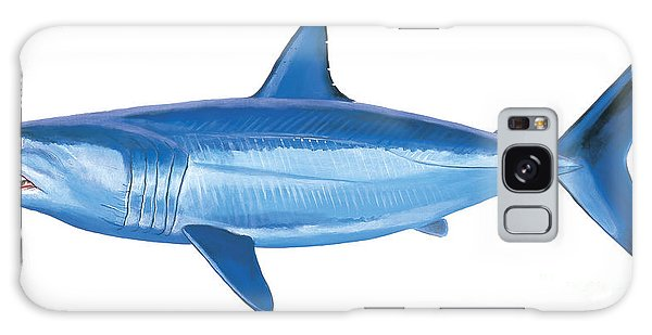 Sharks Galaxy Case - Mako Shark by Carey Chen