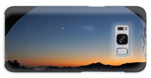Malaga Sunset Galaxy Case by Rod Jones