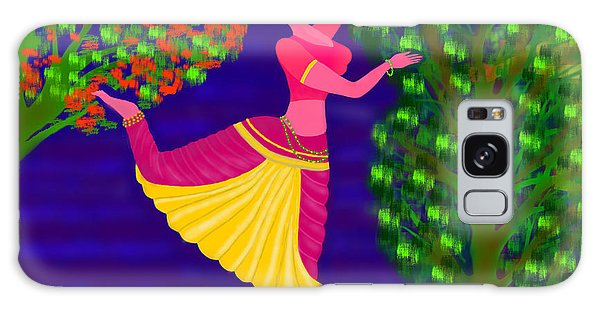 Malavika's Magical Touch Galaxy Case by Latha Gokuldas Panicker