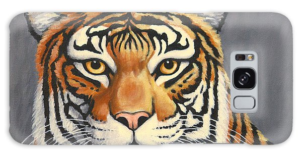 Malayan Tiger Portrait Galaxy Case