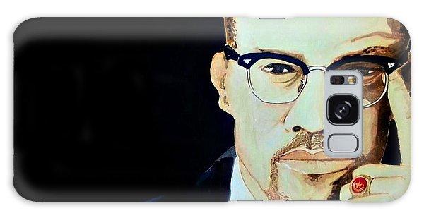 Malcom X Galaxy Case - Malcolm X 2014 by Ken Higgins