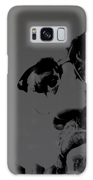 Malcolm X Galaxy Case by Brian Reaves
