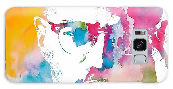 Malcolm X Watercolor Galaxy Case