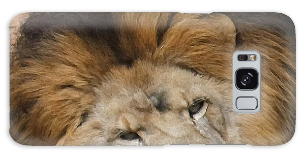 Male African Lion Galaxy Case