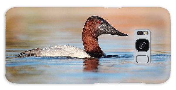 Male Canvasback Galaxy Case
