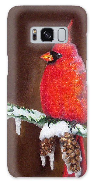 Male Cardinal Galaxy Case