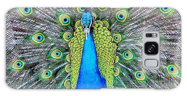 Male Peacock Galaxy Case