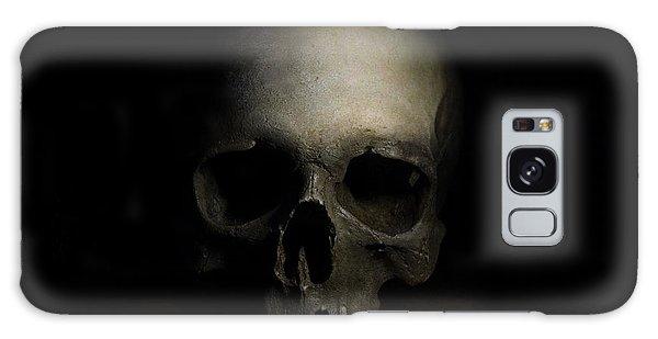 Male Skull Galaxy Case