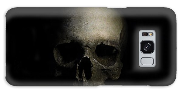 Male Skull Galaxy Case