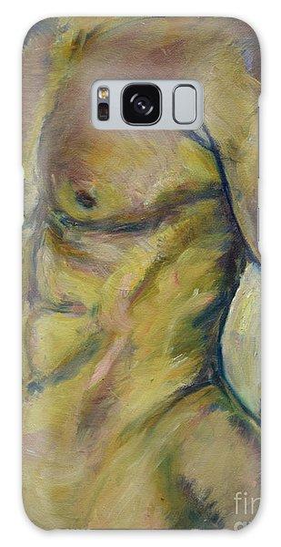 Nude Male Torso Galaxy Case