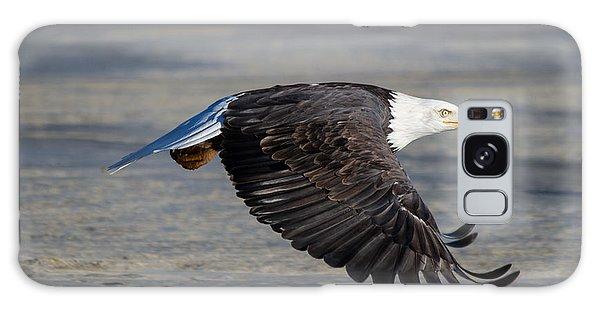 Male Wild Bald Eagle Ready To Land Galaxy Case