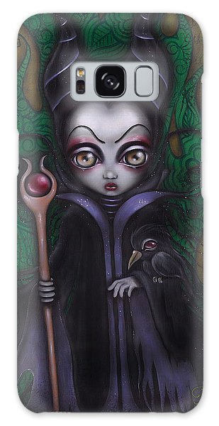Maleficent  Galaxy Case by Abril Andrade Griffith