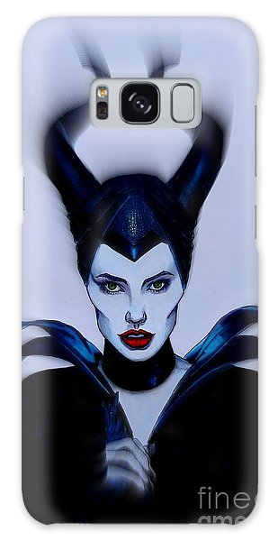Maleficent Focused Galaxy Case by Justin Moore